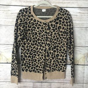 Leopard cardigan by target in size medium